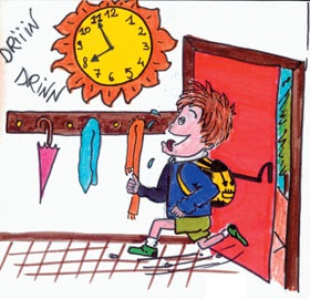 Immagine orario scolastico